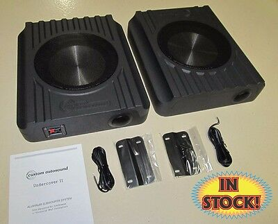 Custom Autosound UCSS2 - Undercover II 250 Watt Speakers (Pair)