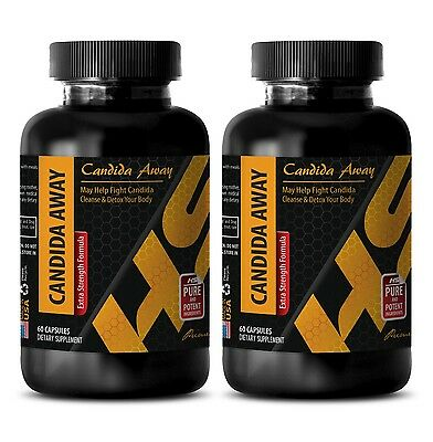 Protea seeds CANDIDA AWAY HEALTHY BLEND 1275 mg antioxidant powder 2 Bottles