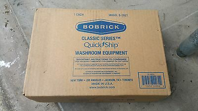 BOBRICK B-2621 Stainless Steel Surface-Mounted Paper Towel Multi Fold Dispenser