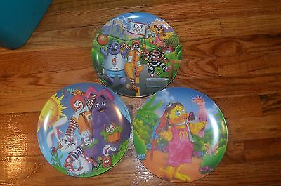McDonalds Collectors Plates  1996 Vintage Lot of 3 (5678)