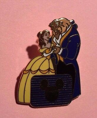 Belle & Beast, Disney Channel Pin VHTF