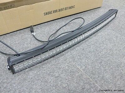 LED vorführ light bar curved 105cm inkl. Halterung, CREE
