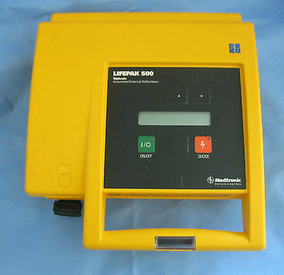 Medtronic Physio Control LifePak 500 Biphasic w/ Battery - 30 Day Warranty