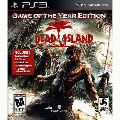 Dead Island - Game of the Year Edition PS3 [Brand New]