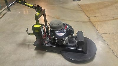 "Aztec LowRider 27"" Propane Floor Buffer.  18 HP Engine."