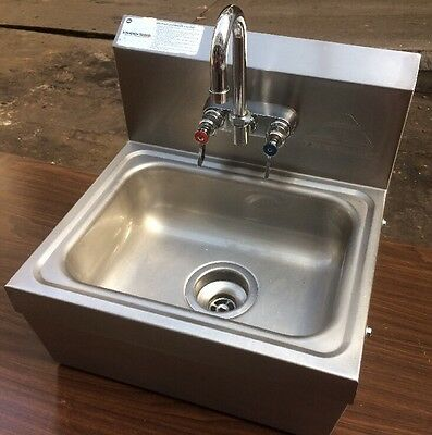 Advance Tabco Commercial Restaurant Stainless Steel Hand Washing Sink
