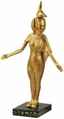 "Ancient Egyptian Serqet Scorpion Goddess of Protection  8.5"" Handmade Sculpture"