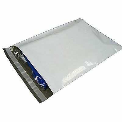8000 White Poly Mailer 4 x 6 Self Sealing Plastic Shipping Bags Envelope 2.5 Mil