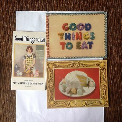 Vintage Arm And Hammer Cooking Booklets