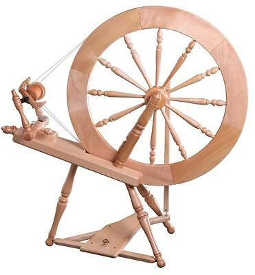 Ashford Elizabeth Spinning Wheel 80cm Limited Edn Single Treadle Lacquered Kit