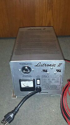 New Lestronic II 24v/25a On Board Battery Charger # 19740. List $812.00