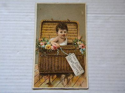 Victorian Trade Card: Crown Prince Coffee New York