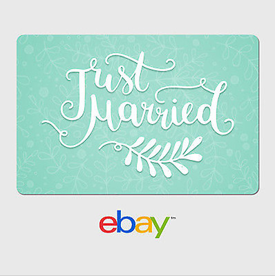 eBay Digital Gift Card - Wedding Mint Email delivery