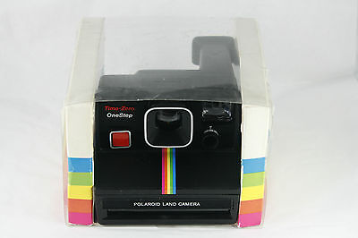 Vtg Polaroid SX70 Land Camera Time Zero One Step Working Housing Damaged