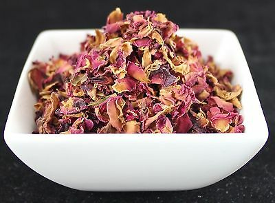 Dried Herbs: Red  Rose Petals - Rosa gallica   25G.