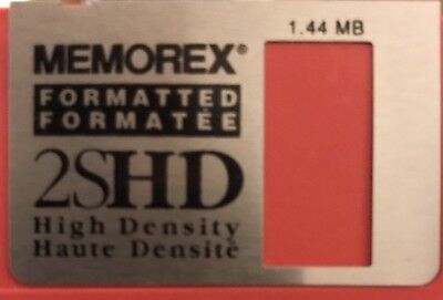 "35 Memorex 2SHD 1.44MB 3.5"" Floppy Diskettes High Density"