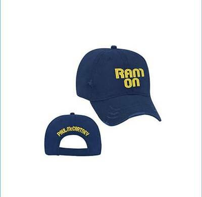RARE!Paul McCartney ONE ONE JAPAN TOUR 2017 Official Goods Ram On Hat