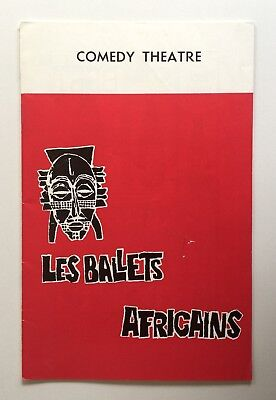 Les Ballets Africains National Ensemble of Guinea 1966 Comedy Theatre