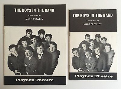 2x The Boys In The Band 1969 Playbox Theatre Programmes Melbourne & Sydney