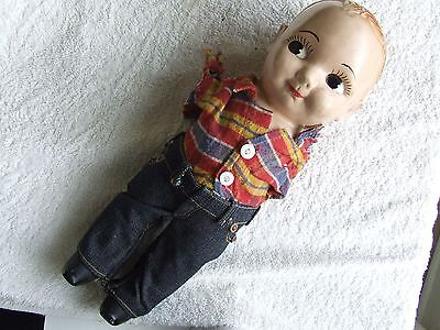 Vintage Buddy Lee Cowboy Doll