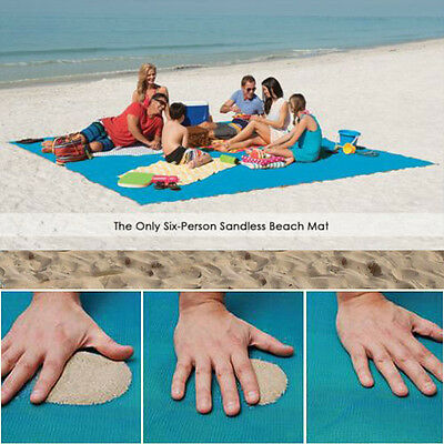 The Sand Absorbing Beach Mat Outdoor Camping Picnic