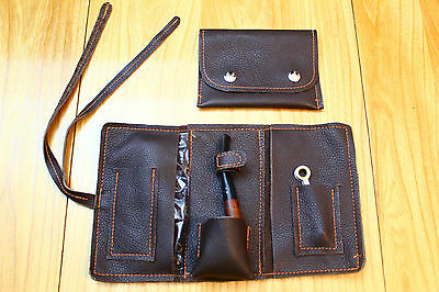 Leather Pipe Pouch Free Shipping Canada Usa