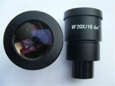 Paire D Oculaires 20X Wf Pour Nikon Olympus Leica Zeiss Stereo Microscope 30M fb