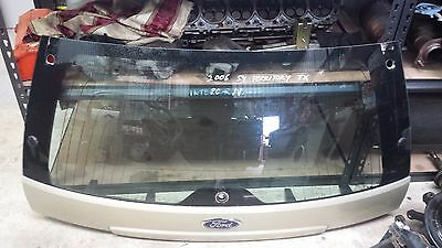 Ford Territory Sy Tx 06 Mdl Tailgate Glass With Moulding  Pc : Jv  Gold