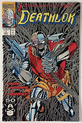Deathlok #1 First Issue in His Own Series / Agents of Shield TV Show App NM- 9.2
