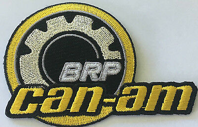 CAN-AM BRP Motorcycle embroidered clot patch.     B030705