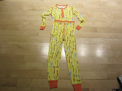 Munki Munki Children's Pajamas Size 4   Toothbrush Design