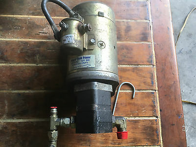 Versalift Electric over Hydraulic Pump  Assembly Fenner Mdl DB 1030