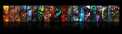 "065 World of Warcraft - Hero Ation role play Online Game49""x14""Poster"