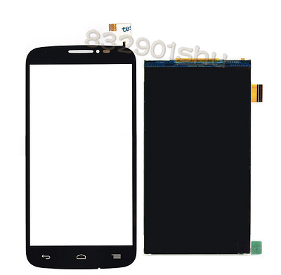 LCD Display + Touch Screen black for Alcatel One touch Pop C7 7041X  free ship
