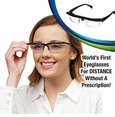 Hot Adjustable Dial Eye Glasses Vision Reader Glass Unisex Variable Focus Glass