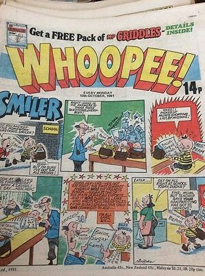 M60 Comic Whoopee October 10th 1981