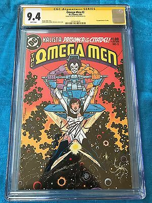 Omega Men #3 (1983) - DC - CGC SS 9.4 NM - Signed by Keith Giffen - 1st Lobo app