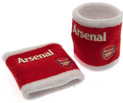ARSENAL FC Wristbands / Sweatbands - LICENSED OFFICIAL ARSENAL MERCHANDISE