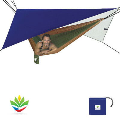 Hammock Bliss All Purpose Shelter - Lightweight Waterproof Rain Fly For Camping