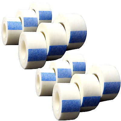 CMS First Aid Bandage Dressing Secure Microporous Tape - 2.5cm x 10m - 12 Pack