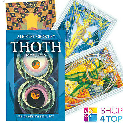 Aleister Crowley Thoth Tarot Pocket Swiss Deck Cards Oracle Esoteric Telling