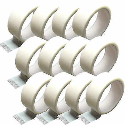 12 Pack Medical Grade CMS Microporous Surgical Support Tape Boxed, 1.25cm x 3m