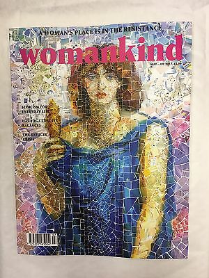 WOMANKIND Magazine Issue 12 OCTOPUS MAY 2017  WOMANS PLACE IS IN THE RESISTANCE