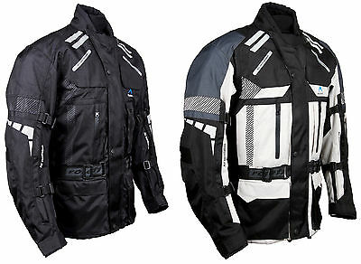 original Roleff Racewear RO774 - long textile motorcycle jacket with protective