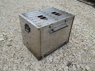 British Army No5 Field Kitchen Oven Genuine MOD Military Bushcraft Camping Event