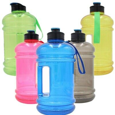 Water Jug 2.2L Sports Fitness Training Gym Drink Bottle BPA Free BIG Hydrate UK