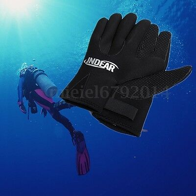 3mm Swimming Diving Surfing Wetsuit Gloves Skid-proof Snorkeling Glove XS-XL UK