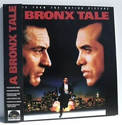 A Bronx Tale soundtrack RSD numbered RED vinyl 2 LP g/f NEW/SEALED