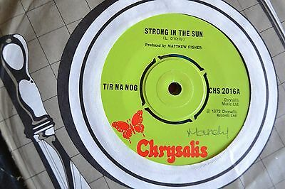 """Tir Na Nog       Strong In The Sun     7"""" Vinyl    Free Postage"""