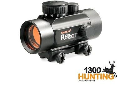 "Tasco Red Dot Sight Scope 1X30 3/8"" Red Dot 5 Moa Bkrd30-22 Genuine ***"